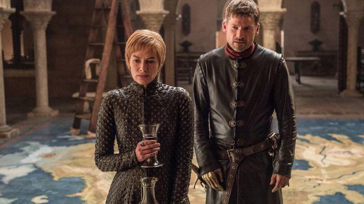 Jaime et Cersei Lannister