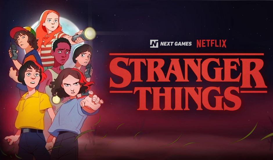 Des jeux vidéo Stranger Things