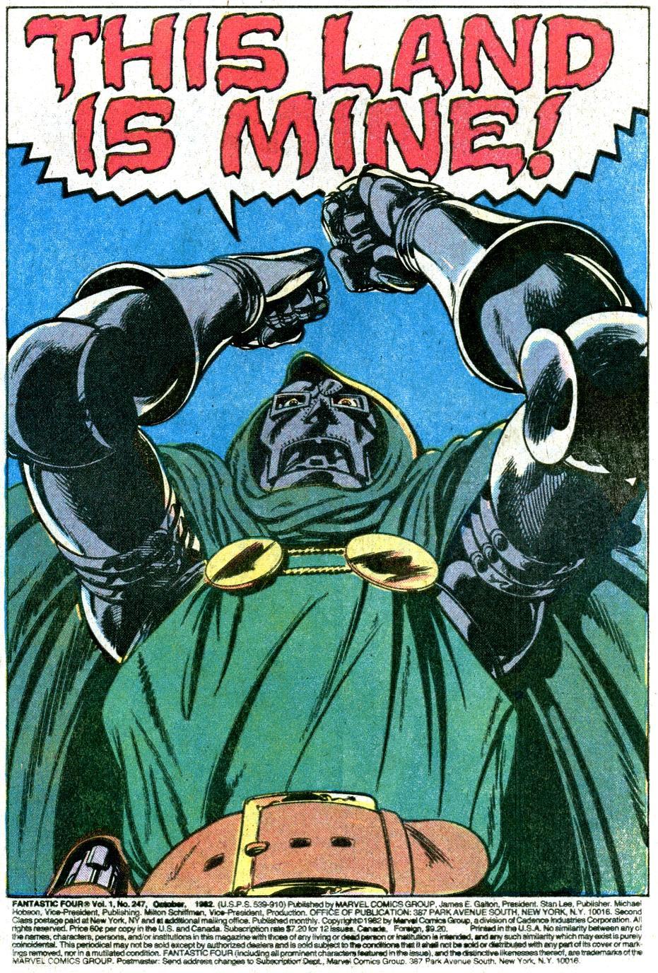 Marvel souhaite introduire Docteur Fatalis