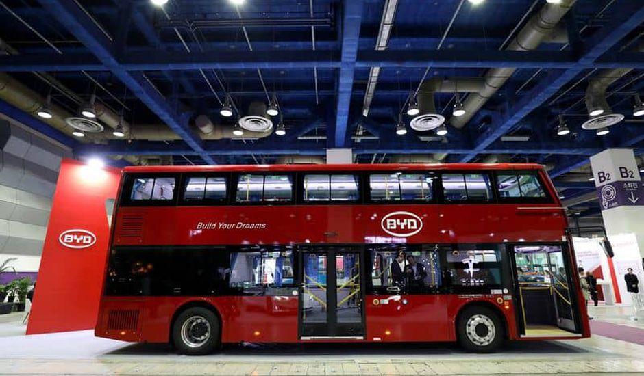 BYD-bus électrique