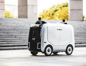 Aperçu du robot d'Alibaba.