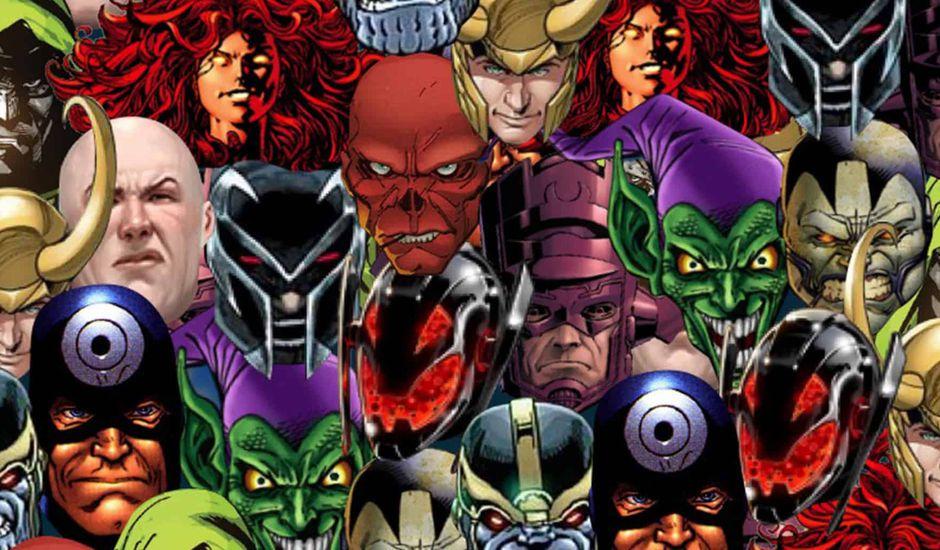 liste des pires super-vilains de marvel comics