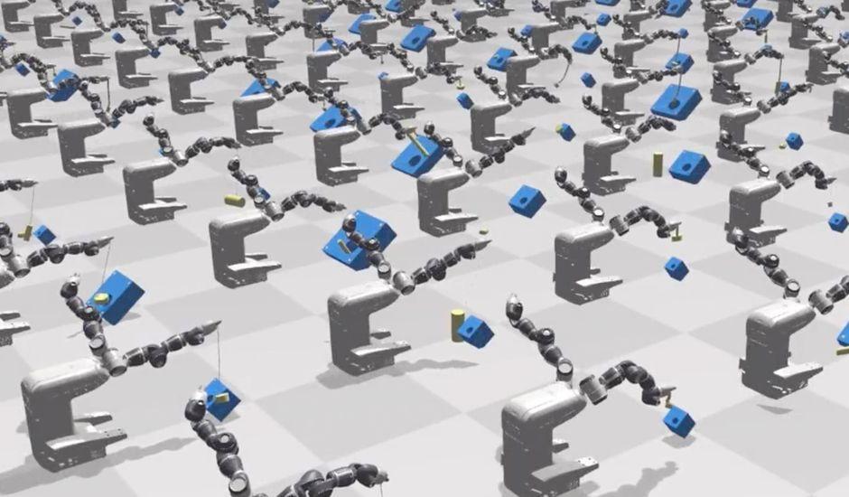 Grâce à Nvidia, les robots peuvent apprendre par eux-mêmes.