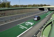 Photographie de la route à induction dynamique en Allemagne