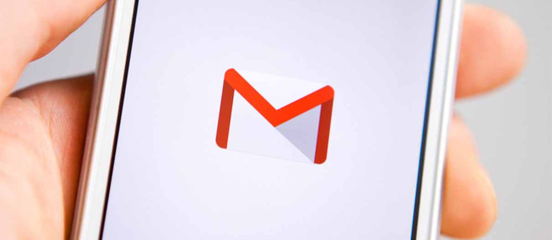aperçu de Gmail sur mobile