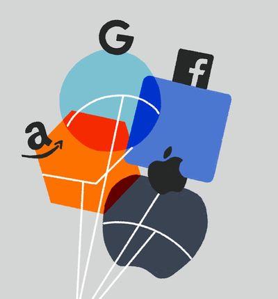 Les logos des GAFA