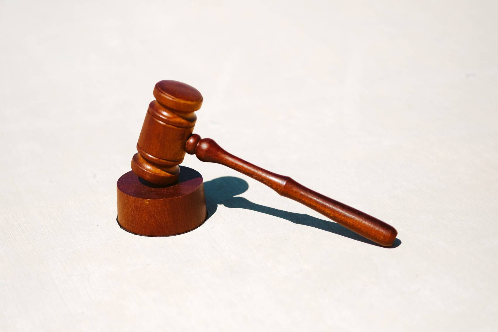 Un marteau de justice.