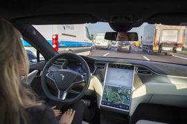 voitures autonomes capable de changer de voie.