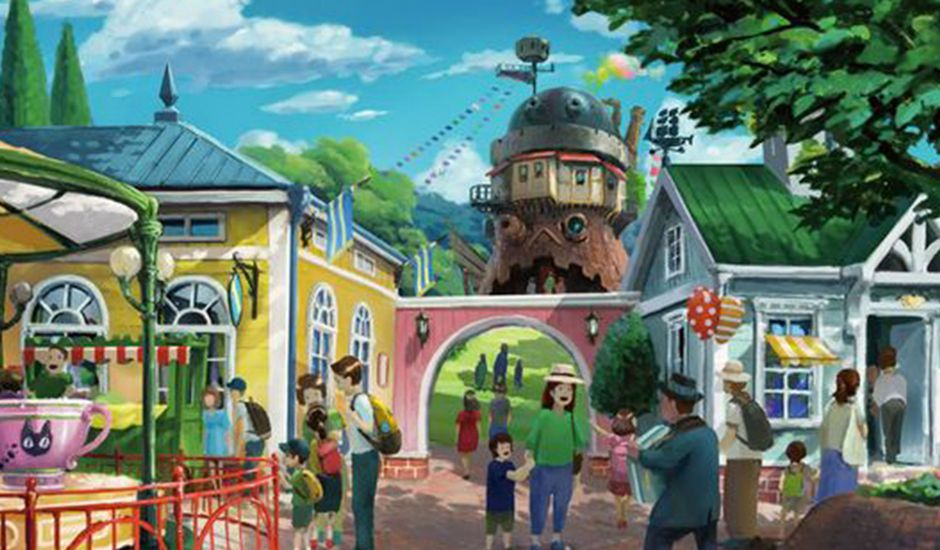 studio ghibli futur parc d'attractions au japon