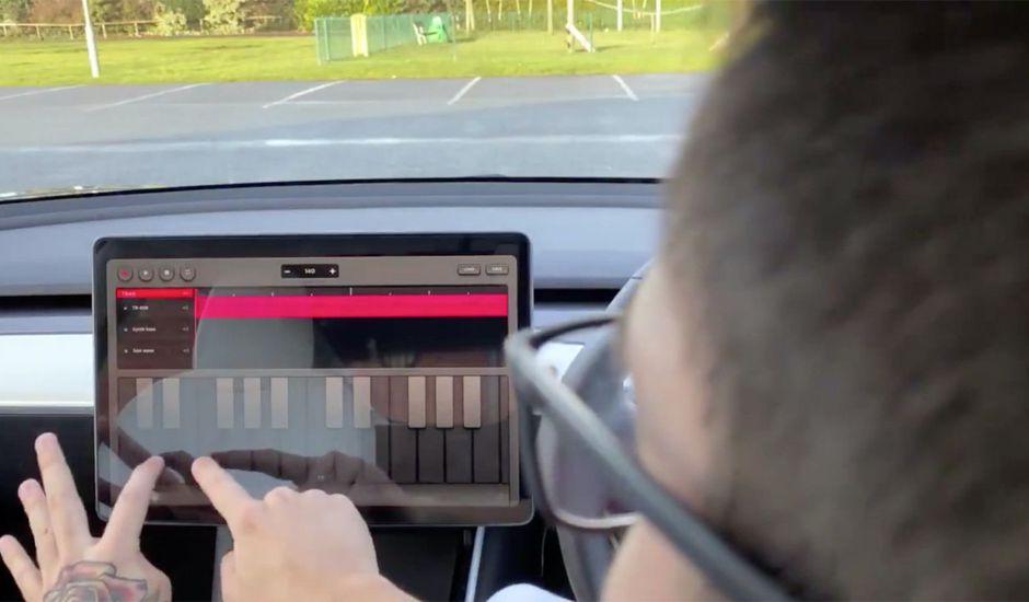 Tesla lance Trax : une app de création musicale.