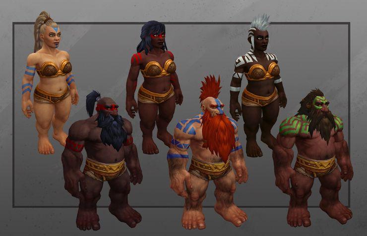 peintures de guerre nains World of Warcraft Shadowlands