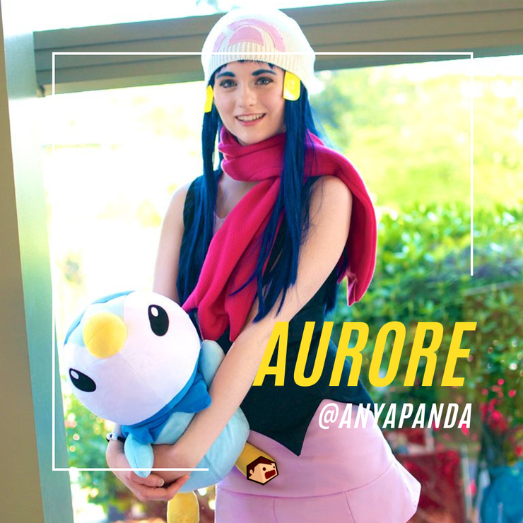 aurore cosplay pokemon