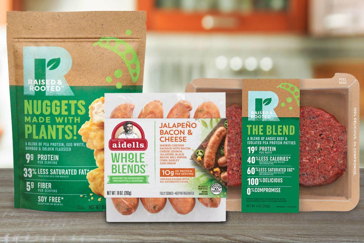 Raised and Rooted les nouveaux produits à base de plantes lancés par Tyson Foods