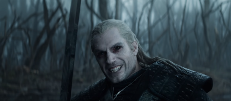 the witcher netflix serie horrreur