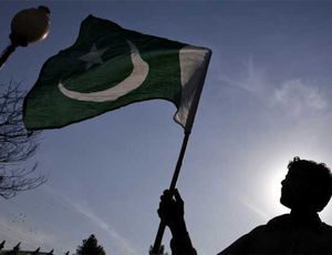 Drapeau du Pakistan.