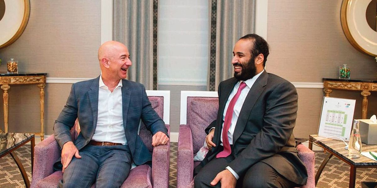 Le smartphone de Jeff Bezos a été piraté par le prince héritier saoudien