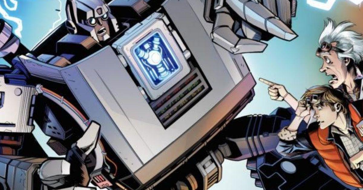 Transformers et Retour Vers Le Futur : Le prochain crossover d'IDW