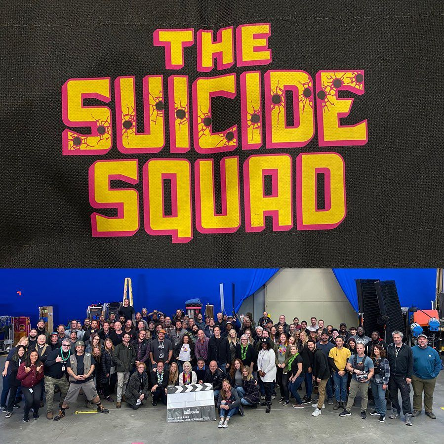 the suicide squad fin tournage james gunn instagram dc