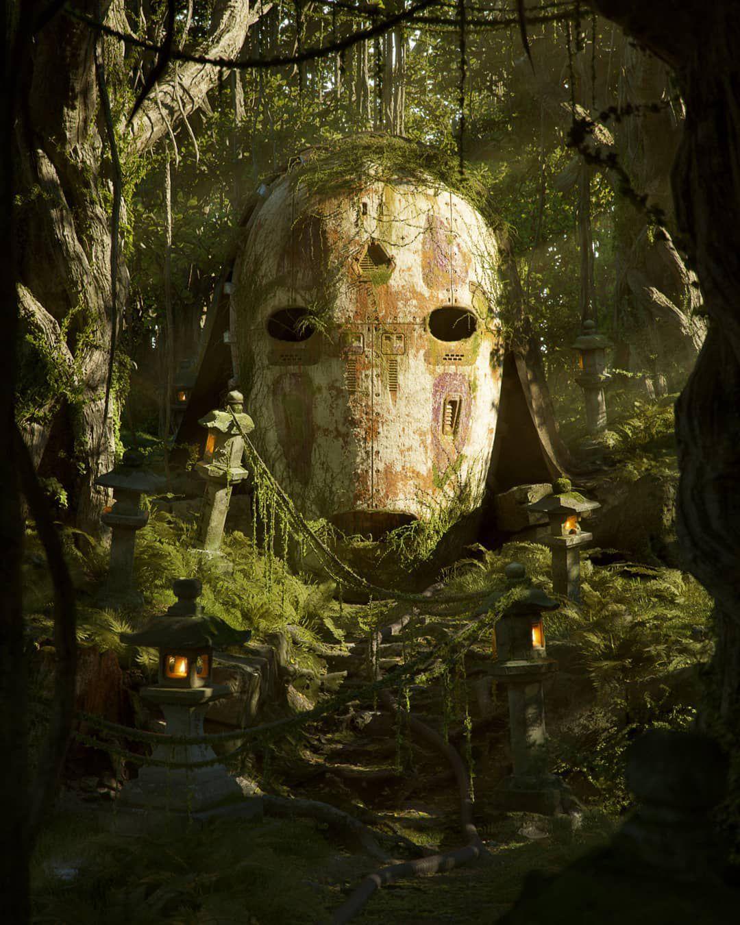filip hodas artworks pop culture voyage de chihiro sans visage miyazaki