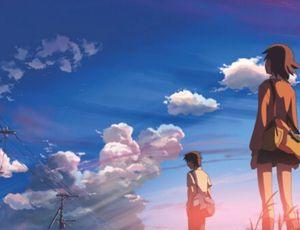 Couverture du roman 5cm per Second par Makoto Shinkai