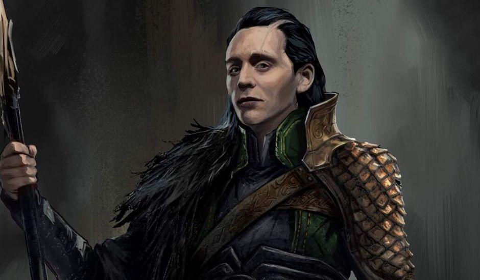 Concept art de Loki dans Thor : Ragnarok