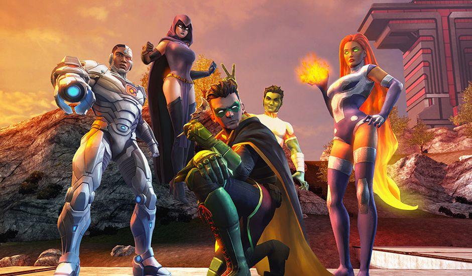 DC Universe Online sortie Nintendo Switch