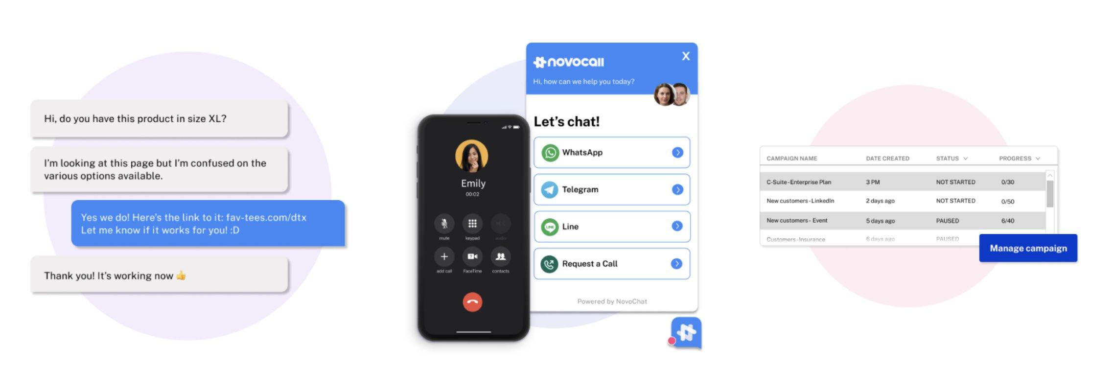NovoChat explication