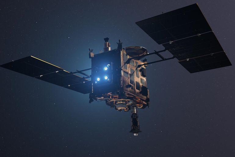 Les images de l'explosion commise par le satellite Hayabusa 2 sont disponibles
