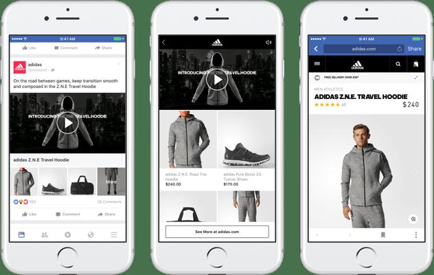 Nouveau format de social selling par Facebook