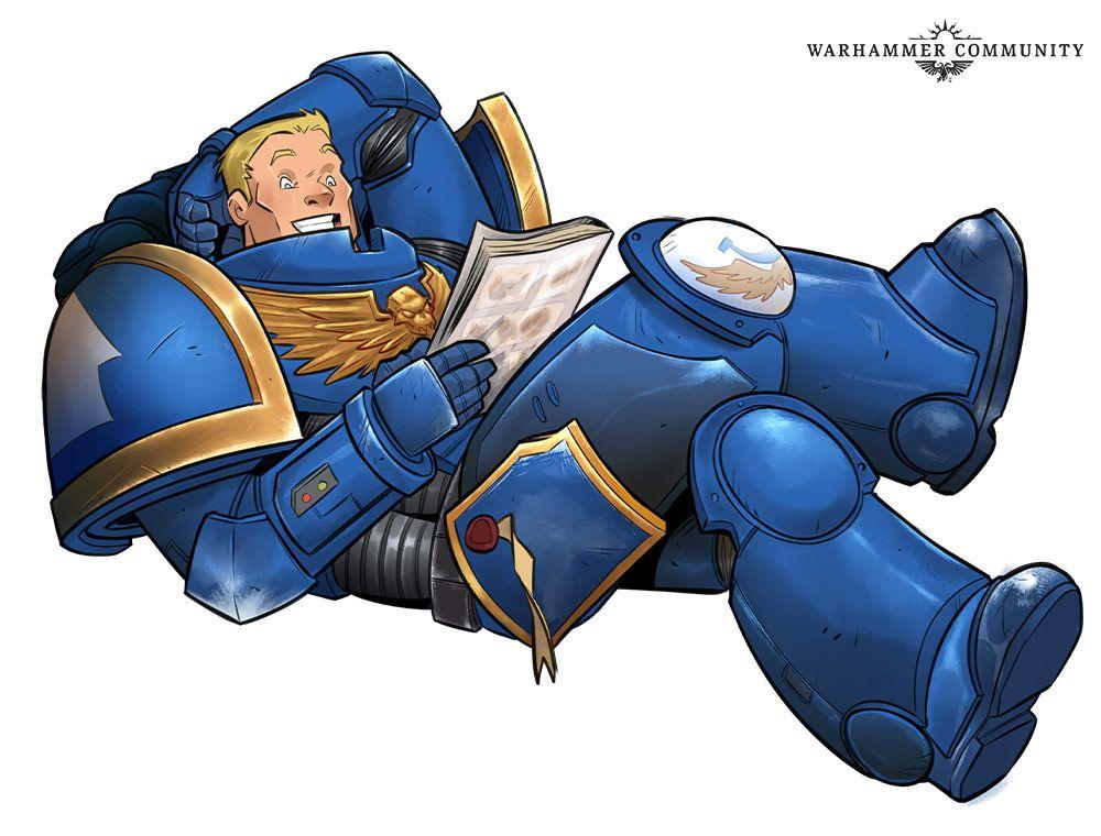 Warhammer 40 000 comics édités par Marvel