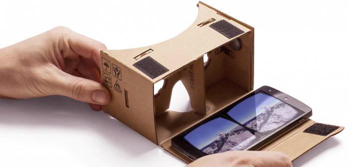 Cardboard-google