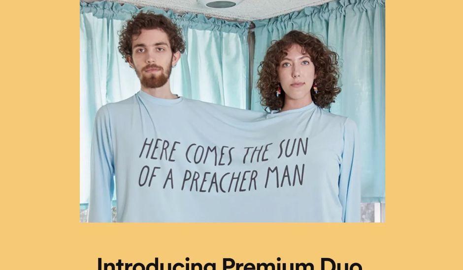 illustration de l'abonnement Premium Duo de Spotify