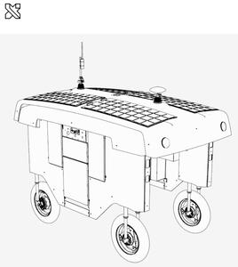 Schéma du prototype du robot fermier Mineral