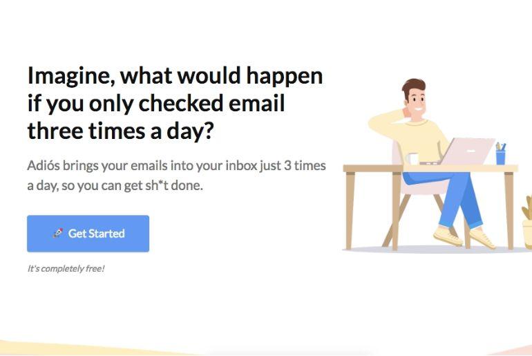 Une application pour améliorer votre productivité en ne recevant vos mails que trois fois par jour
