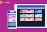 Spotify Kids : l'interface de l'application sur un iPhone et un iPad.