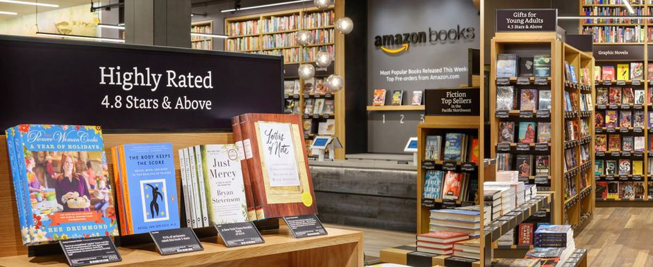 amazon books librairie Seattle
