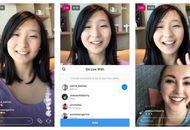 Instagram live à deux