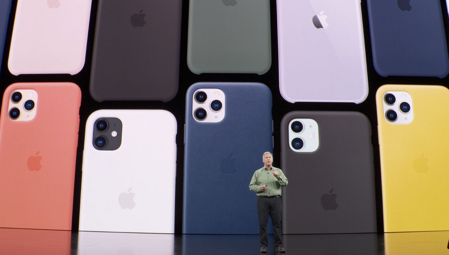 Lancement de l'iPhone 11.