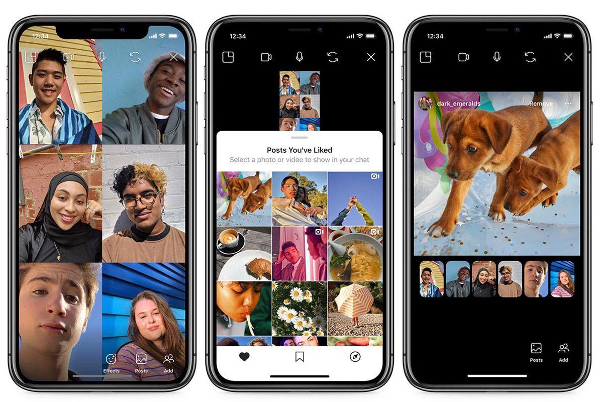 """Instagram : des captures d'écran montrant le fonctionnement de la fonctionnalité """"Co-Waching"""""""