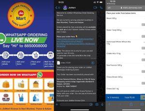 Exemple de commande sur JioMart