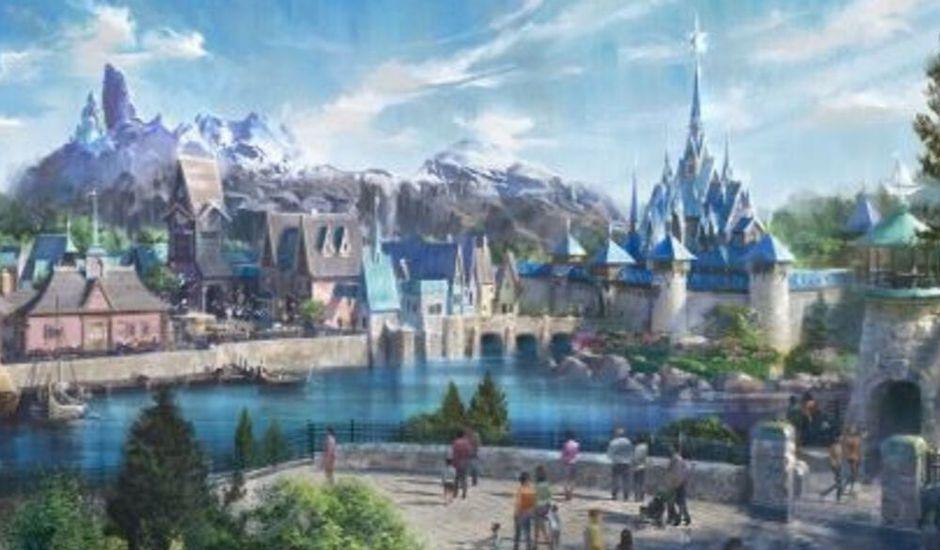 disneyland paris parc à thème la reine des neiges