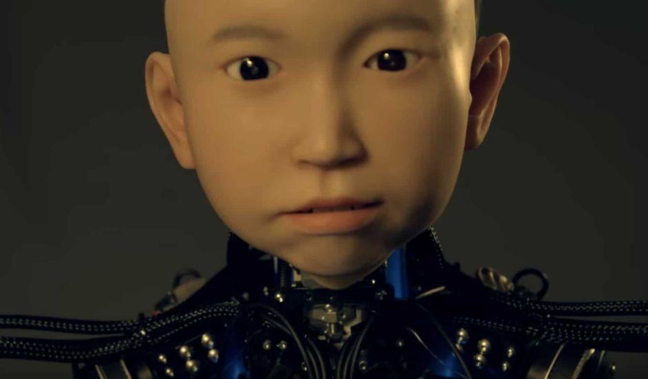 Ibuki l'humanoïde enfant qui va aider les gens