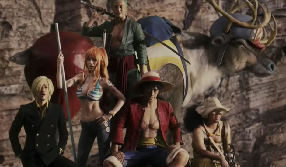série live-action one piece