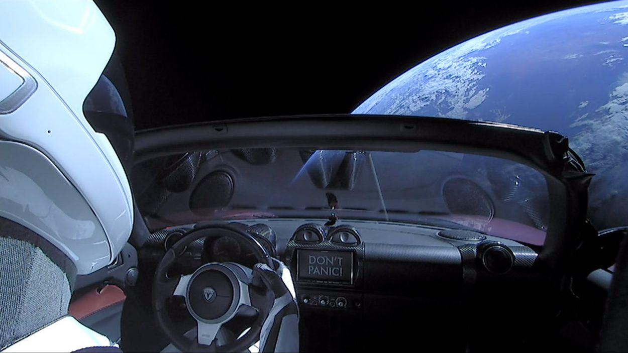 Starman vient de terminer sa première orbite autour du soleil