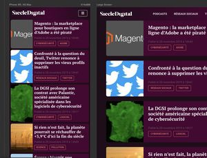 aperçu responsive viewer