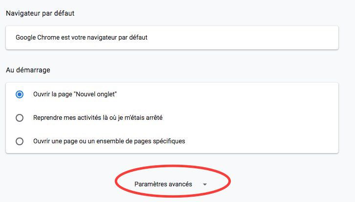 Comment désactiver les notifications sur Google Chrome partie 1