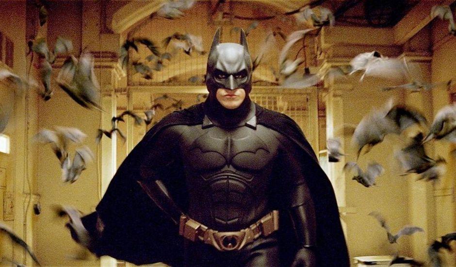 Christian Bale dans Batman Begins