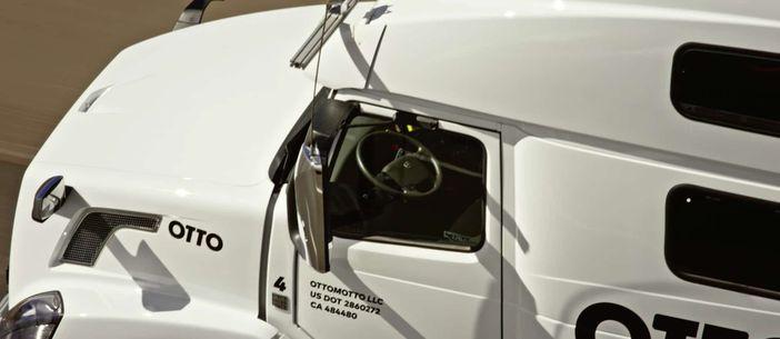 camion sans conducteur