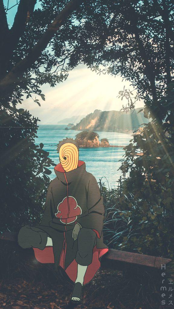 Fond d'écran de Tobi dans Naruto Shippuden