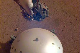 InSight a capté des tremblements de terre sur mars